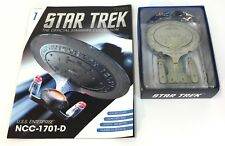 Star Trek U.S.S. Enterprise NCC-1701-D ~ Magazine #1 Eaglemoss OFFICIAL NRFB ~b
