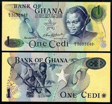 GHANA 1 CEDI 1978 P13d UNCIRCULATED