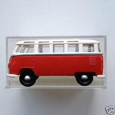 Brekina  3180 1:87 HO scale VW Volkswagen 1960's Samba Minibus Van - white/red