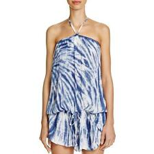 Lucky Brand 2829 Womens Blue Tie-Dye Swim Cover Skirt Swim Cover-Up XS/S BHFO
