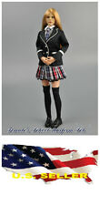 1/6 Women Clothes Girl School Uniform set 2.0 for Kumik Phicen Hot Toys ❶❶USA❶❶