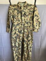 Kelly Cooper Tru-Leaf Long Sleeve Coveralls Camouflage Hunting USA Gander Mtn M