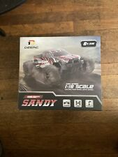 "Deerc RC Car High Speed Remote Control Car 4WD Off Road ""Sandy Land"" OPEN BOX"