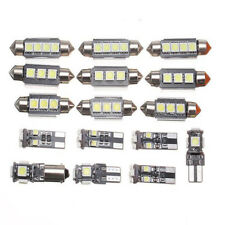 16pcs Car Xenon White LED Interior Lights Lamp For VW Passat B6 Vehicles Replace