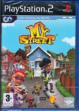MY STREET  Gioco PS2 Versione Italiana PAL SONY COMPUTER  NUOVO SIGILLATO