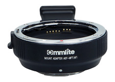 Commlite CM-AEF-MFT Adapter - Canon EF / EF-S Objektive an MFT-Kameras