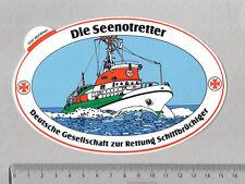 Aufkleber/Sticker DGzRS Die Seenotretter