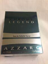 CHROME LEGEND By AZZARO for Men Cologne Spray 2.6 OZ / 75 ml NEW IN BOX SALE!!