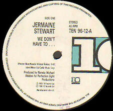 JERMAINE STEWART - We Don't Have To