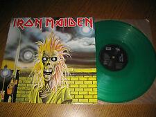Iron Maiden-same LP,Globus Czechoslovakia 1992,green vinyl,megarar,unplayed!