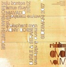 RIDDIM DVD Vol. 4 Buju Banton Tarrus Riley Bugle Ziggi Dancehall Roots Culture