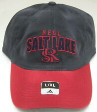 MLS Real Salt Lake Multi-Color Relaxed Fit Flex Fitted Hat By adidas, Size L/XL