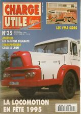 CHARGE UTILE 35 CARROSSERIE GANGLOFF CIRQUE GRUSS CAMIONS DELAHAYE VMA SAVIEM