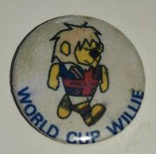 World Cup Willie Badge 1966 Mascot Winners 66 Russia Retro Old Wembley Pin 2018