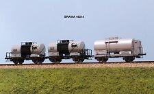 BRAWA art. 49215 FS set 3 carri cisterna  AGIP SUPERCORTEMAGGIORE