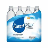 Smart Water Bottled Water, 1 Liter, Pack of 12