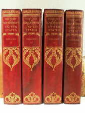 1903 4V Patton Lord Roosevelt HISTORY & GOVERNMENT OF UNITED STATES Illus + Maps