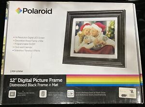"*NEW* Polaroid 12"" Digital Picture Frame"