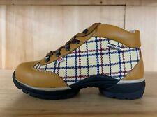 DOLOMITE HIKING TREKKING BOOTS VINTAGE ECLIPSE FG CHECKS WHEAT BEIGE MEN SZ 5.5