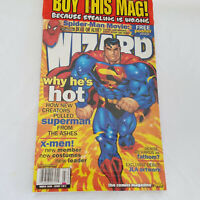 Wizard Comic Magazine Cover 1 of 2 March 2000 Free Poster Superman Sealed