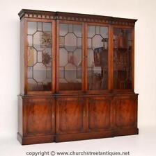 Mahogany Original 20th Century Antique Bookcases