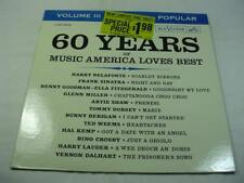 60 Years Of Music America Loves Best Volume III - Excellent Condition