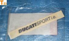 """1 autocollant de coque arrière DUCATI """"SPORT i.e."""" 620 800 SS 43611381AA neuf"""