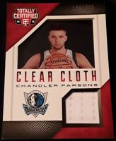 🏀2014 totally certified CHANDLER PARSONS (jersey patch/#d/acetate insert) #57🏀