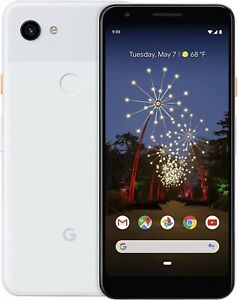 Google Pixel 3a XL - 64GB - Clearly White (Unlocked) with otter box