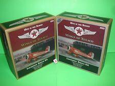 2010 Wings of Texaco Airplane #18 REGULAR & SPECIAL EDITION LOCKHEED SIRIUS 8A