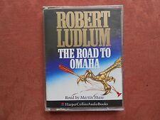 Audio Book Cassette - The Road To Omaha - Robert Ludlum