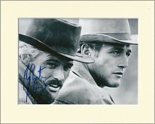 ROBERT REDFORD BUTCH CASSIDY SUNDANCE KID PP MOUNTED 8X10 SIGNED AUTOGRAPH PHOTO