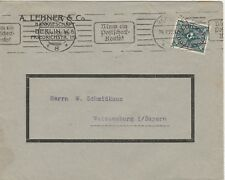 Berlín-actividad bancaria a. Lehner & Co