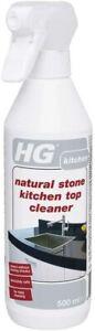 HG Granite Marble Natural Hard Stone Kitchen Work Top Cleaner Polish Spray 500ml