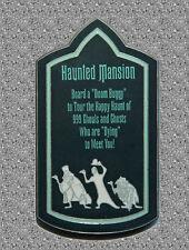 Wdi Haunted Mansion Sign Pin - Disney Le 300
