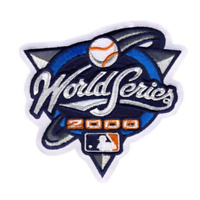 2000 MLB World Series Logo Jersey Patch New York Mets vs. New York Yankees