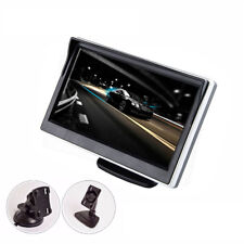"""5.0"""" TFT LCD 16: 9 Screen 2 Way Video Input Monitor For Reverse Camera DVD VCD"""