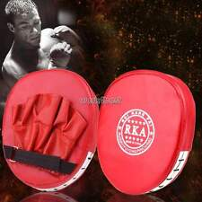 Boxing Mitt Training Target Focus Punch Pad Glove MMA Karate Muay Kick Kit