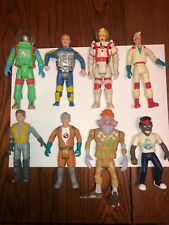 Vintage 1980's Kenner The Real Ghostbusters Action Figure Lot Of 8 Astronauts