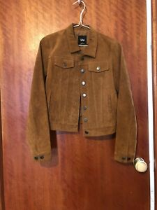 Tan Suede  Jacket 8 Leather