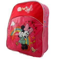 Disney Minnie Mouse grand rembourré pour enfants Sac à dos école arc-en-ciel à