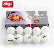 DHS 1-Star Ping Pong Table Tennis Balls 40mm - 10 pcs (White)