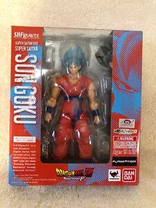 Bandai Tamashii SH Figuarts Super Saiyan God Son Goku Blue Authentic Figure MISB