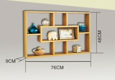 Stylish And Attractive Space Saving Multi-Compartment Wall Shelf-DAMAGED BOX