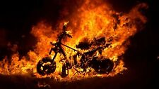 Ghost Rider Poster Length :800 mm Height: 500 mm SKU: 4161