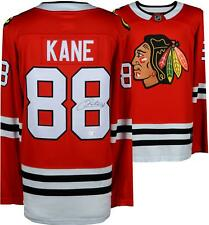 Patrick Kane Chicago Blackhawks Autographed Red Fanatics Breakaway Jersey
