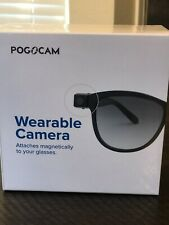 NEW POGO CAM WEARABLE CAMERA W/ SUNGLASSES