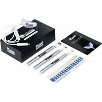 Cleaner Smile Teeth WHITENING KIT W/ LED Light Charcoal Strength 6 Months Supply