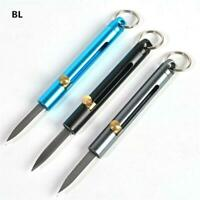 Aluminum Alloy Mini Knife Outdoor Self-defense Pocket Knife EDC Demolition s