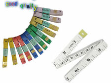 12 X 60  1.5M SEWING TAILOR SOFT FLAT FABRIC TAPE MEASURE WHOLESALE JOBLOT